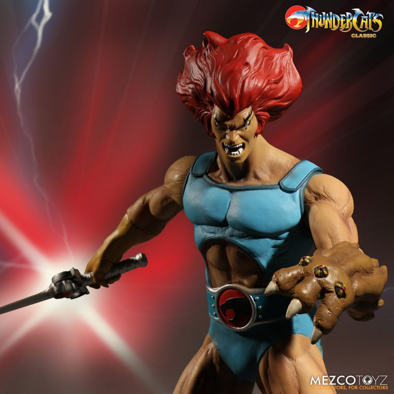 ThunderCats Mega Scale Lion-O Deluxe Edition by Mezco Toyz