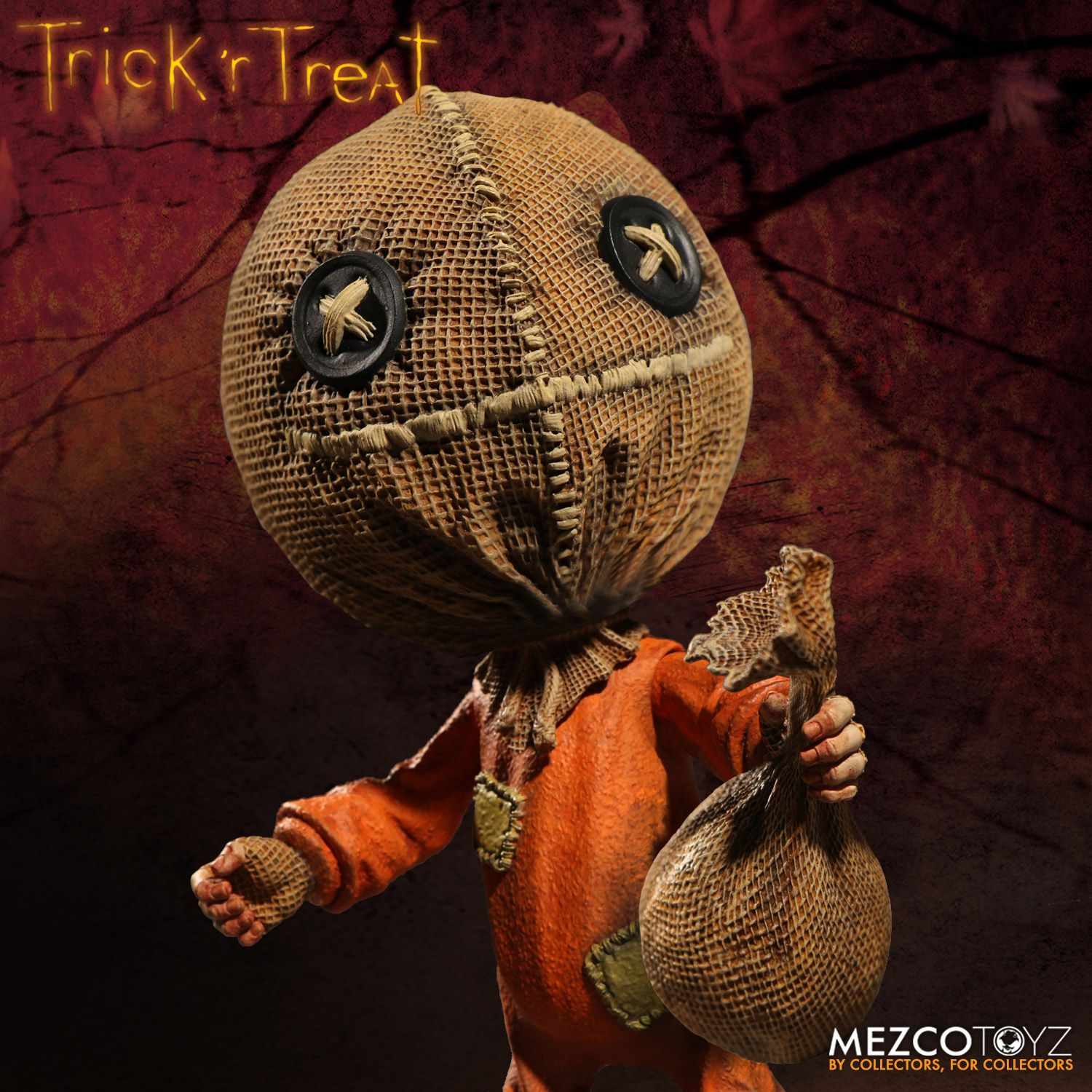 Trick R Treat Stylized Sam 6 Quot Action Figure Mezco Toyz