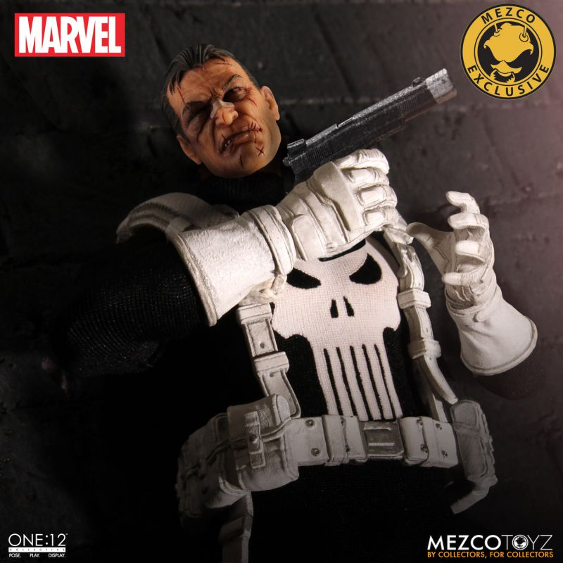 One:12 Collective Classic Punisher Exclusive by Mezco Toyz
