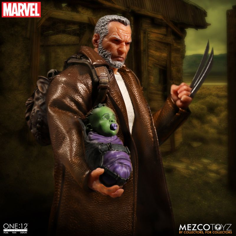 One:12 Collective Marvel Old Man Logan Action Figure by Mezco Toyz