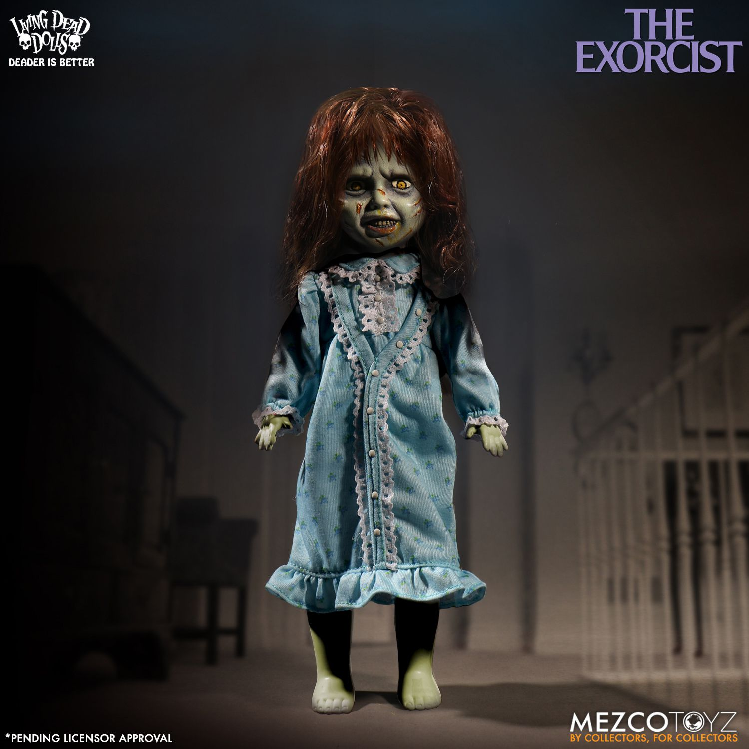 living dead dolls the exorcist mezco toyz