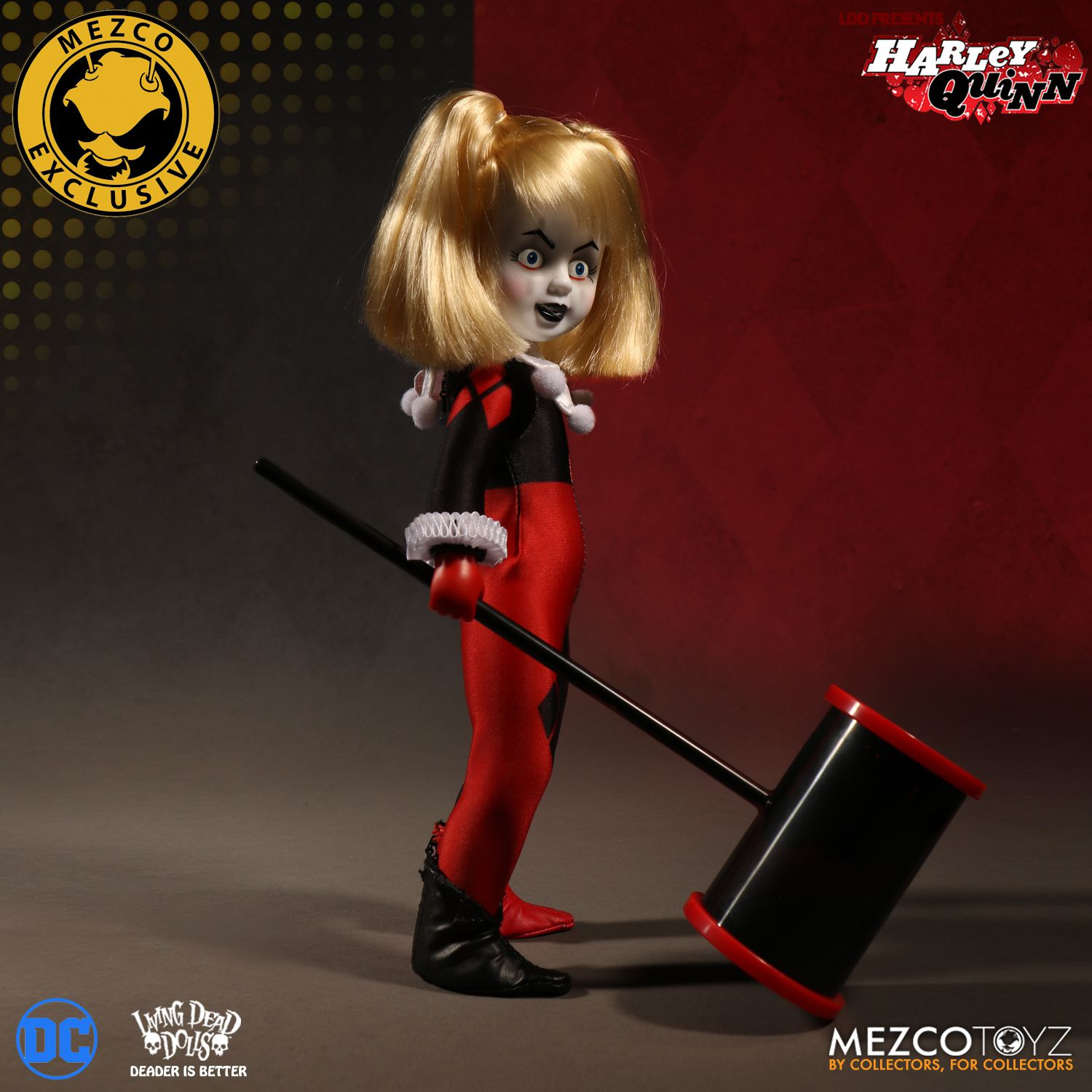 What Is Mds >> LDD Presents Classic Harley Quinn Unmasked | Mezco Toyz