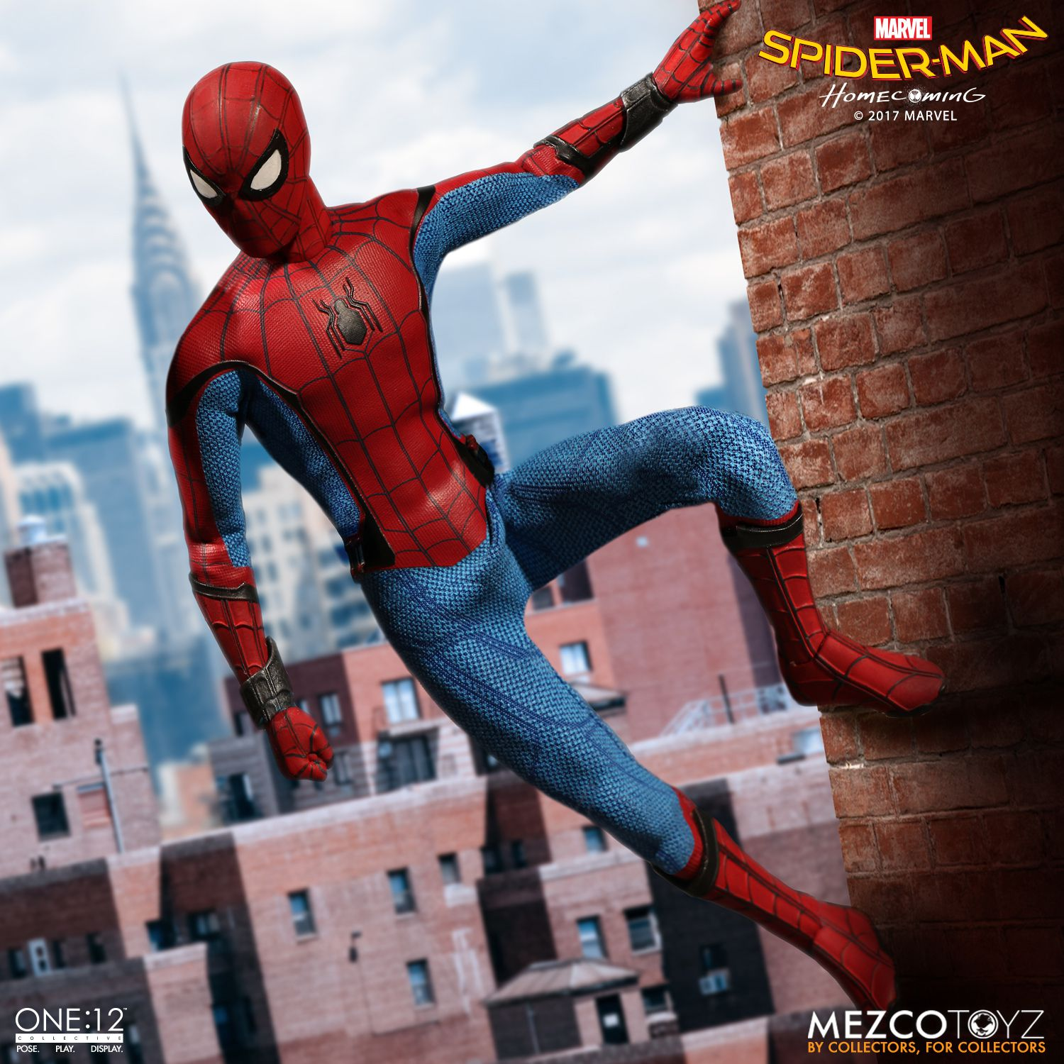 One 12 Collective Spider Man Homecoming Mezco Toyz