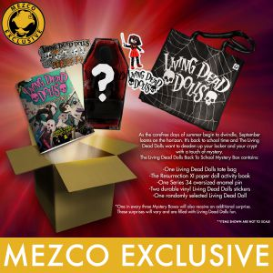 Living Dead Dolls Back To School Mystery Box
